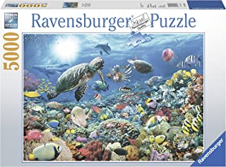 Ravensburger Beneath The Sea 5000 Piece Jigsaw Puzzle for Adults – Softclick Technology Means Pieces Fit Together Perfectly