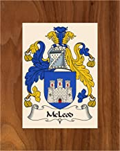 Carpe Diem Designs McLeod Coat of Arms/McLeod Family Crest 8X10 Photo Plaque, Personalized Gift, Wedding Gift