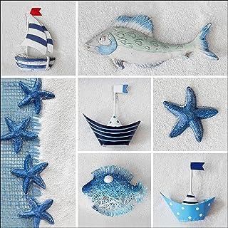 Pro-Art gla742d Maritim Mix II - Mural Decorativo en giclée (20 x 20 cm), diseño de Objetos de mar
