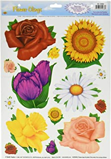 Flower Clings Party Accessory (1 count) (14/Sh)