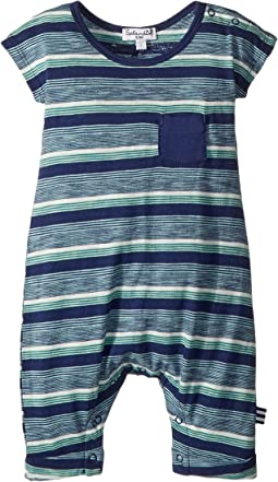 Stripe Pocket One-Piece (Infant)