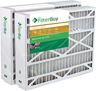21x27x5 Trane Perfect Fit BAYFTFR21M Aftermarket Furnace Filter/Air Filter - AFB Gold (Merv 11). (2 Pack)