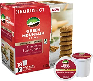 Green Mountain Coffee, Cinnamon Sugar Cookie, K-Cups for Keurig Brewers, 18 C...