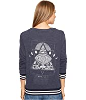 Spiritual Gangster - Lunar Eye Savasana V-Neck