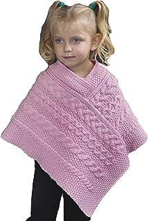 Aran Crafts Kids Poncho (100% Merino Wool)