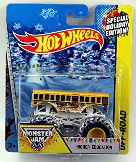 Hot Wheels Monster Jam Off-Road Holiday Edition - Higher Education 1:64 Scale