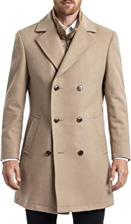 mens Classic Double-breasted Coat