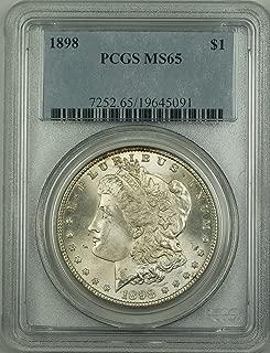 1898 morgan silver dollar no mint mark