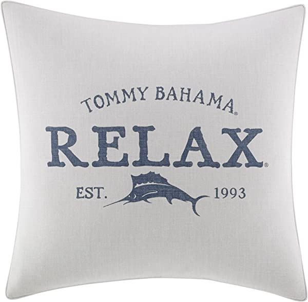 Tommy Bahama Raw Coast Relax 20 Inch Dec Pillow 20x20 Natural