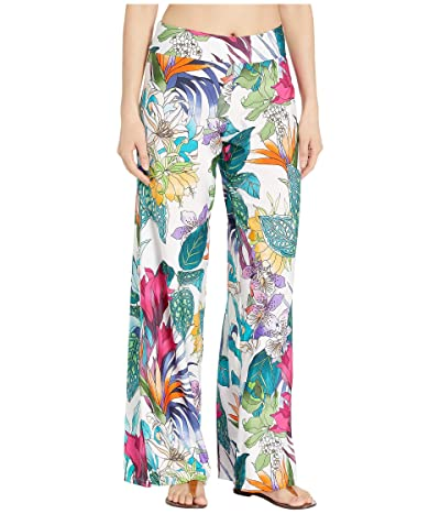 Trina Turk Amazonia Roll Top Pants Cover-Up (Multi) Women