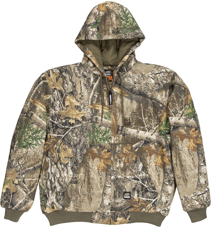 Berne Phoenix Mall Great interest Men's Heritage Hooded Jacket Edg Regular Realtree Medium