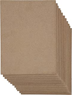 Bright Creations MDF Board, 6 x 8 Inches (12 Pack)