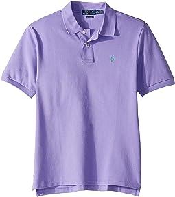 Cotton Mesh Polo Shirt (Big Kids)