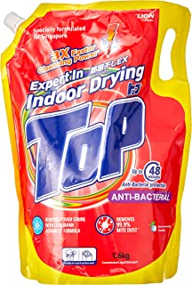Top Concentrated Liquid Detergent Refill Anti-Bacterial, 1.6kg