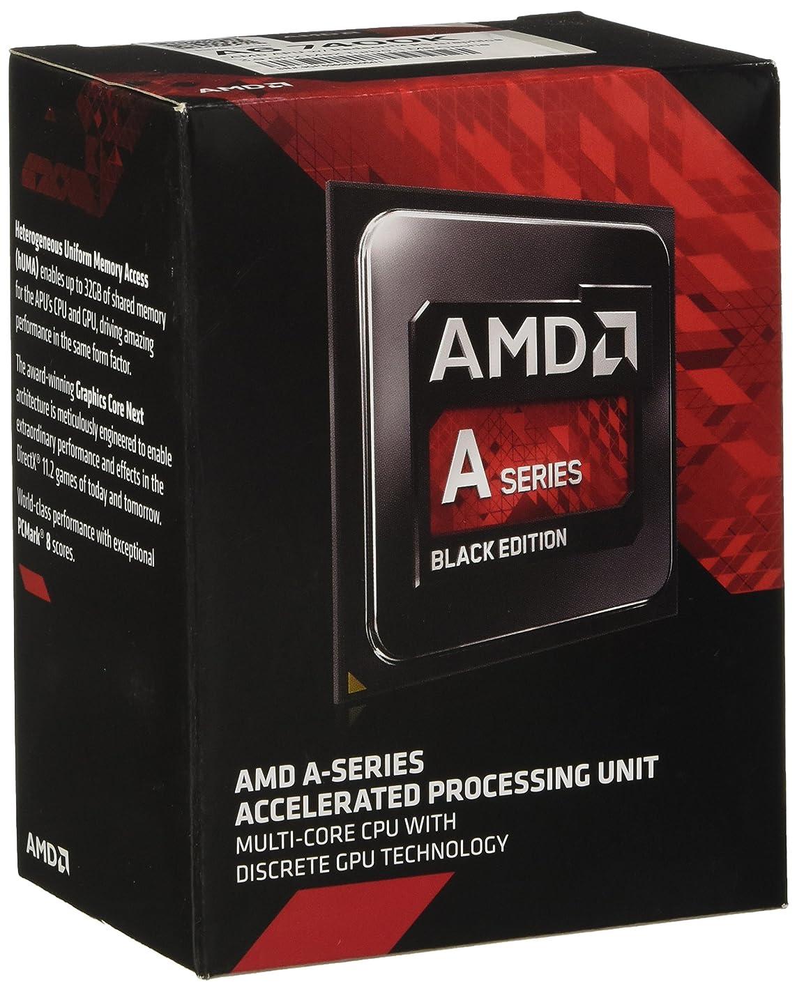 AMD AMD A6-7400K Dual-Core 3.5 GHz Socket FM2+ Desktop Processor Radeon R5 Series (AD740KYBJABOX) m12847640583