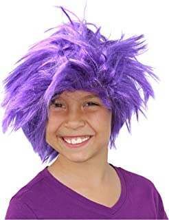 Colorful Frizzy Character Costume Wig