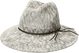 Collection XIIX Two-Tone Slubby Knit Packable Panama Hat
