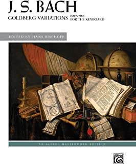 Bach -- Goldberg Variations, BWV 988 (Alfred Masterwork Edition)
