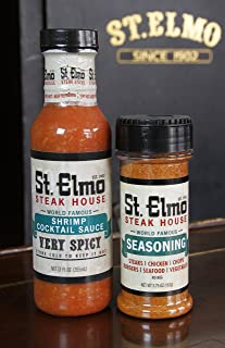 St Elmo Shrimp Cocktail Sauce and Seasoning Bundle
