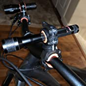 Torch Mount Bicycle Light Front Bracket Flashlight Non P2O4 Gaskets 360 N7N7
