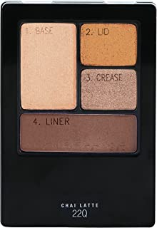 Maybelline New York Expert Wear Eyeshadow Quads, Chai Latte, 0.17 oz.
