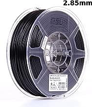 eSUN 3mm Black PLA PRO (PLA+) 3D Printer Filament 1KG Spool (2.2lbs), Actual Diameter 2.85mm +/- 0.05mm, Black