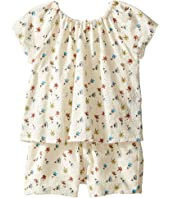 Chloe Kids - Flowers Embroidery Romper (Toddler)