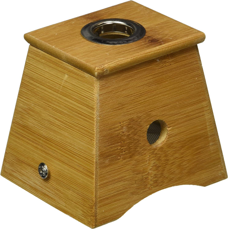 Bamboo Cheap One Hole Healing Box Moxibust Moxa Philadelphia Mall for 艾灸盒