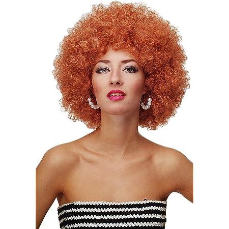 WIG ME UP- Peluca Afro Rojo cobrizo Funk Disco años 70 años 80 Foxy Brown PW0011-P130