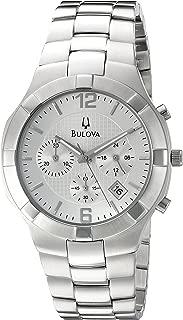 Men's 96B146 Analog Display Japanese Quartz Silver Watch