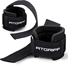 Fitgriff® Lifting Straps + Wrist Support Padding - Comfort Gym Straps for Weightlifting, Bodybuilding, Gym, Workout - Men ...