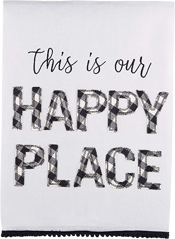 Glory Haus This Is Our Happy Place Tea Towel 19 X25
