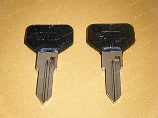 2 Key Blanks Silca Black Top For ALFA ROMEO 164 Spider Milano GTV-6 - FERRARI 512 TR Testarossa - FIAT Strada IGNITION & Ferrari 308,326 & 348 Models From 1989-1994