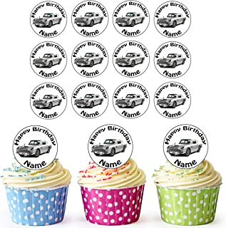 /Facile pr/éd/écoup/ée Cercles Groupe de BMX Riders 24/personnalis/é comestible pour cupcakes//d/écorations de g/âteau danniversaire/