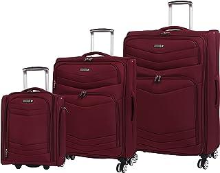 Gris 102 liters Charcoal Grey it luggage Worlds Lightest Urbane 2 Wheel Super Lightweight Suitcase Valise 83 cm