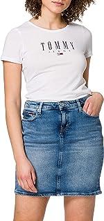 Tommy Jeans Classic Denim Skirt Albs Gonna Donna