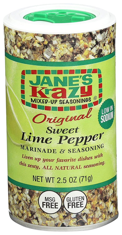 Jane's Ranking TOP7 Krazy Seasonings Directly managed store Original Sweet Marinade Pepper Lime Se