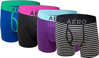 Mens Boxer Briefs 4 Pack Cotton Stretch Boxer Briefs Underwear