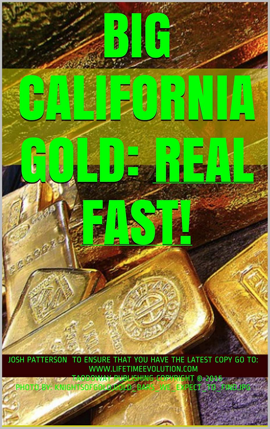 備品歌不条理BIG CALIFORNIA GOLD: REAL FAST! (English Edition)