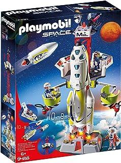 Playmobil - Fusée Mars avec Plateforme de Lancement - 9488