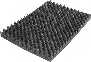 5 m/² 20 Akustikschaumstoff-Platten ca ca Noppenschaumstoff 50x50x3cm Pyramidenschaumstoff Weiss