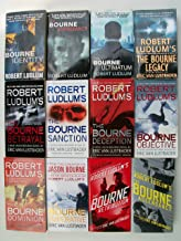 Bourne Series (Set of 12) Identity, Supremacy, Ultimatum, Legacy, Betrayal, Sanction, Deception, Objective, Dominion, Impe...