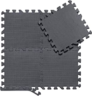 arteesol – Juego de 18 esterillas de puzzle de 30 x 30 x 1 cm, esterillas de protección prémium para el suelo, esterillas de fitness, fitness, piscinas