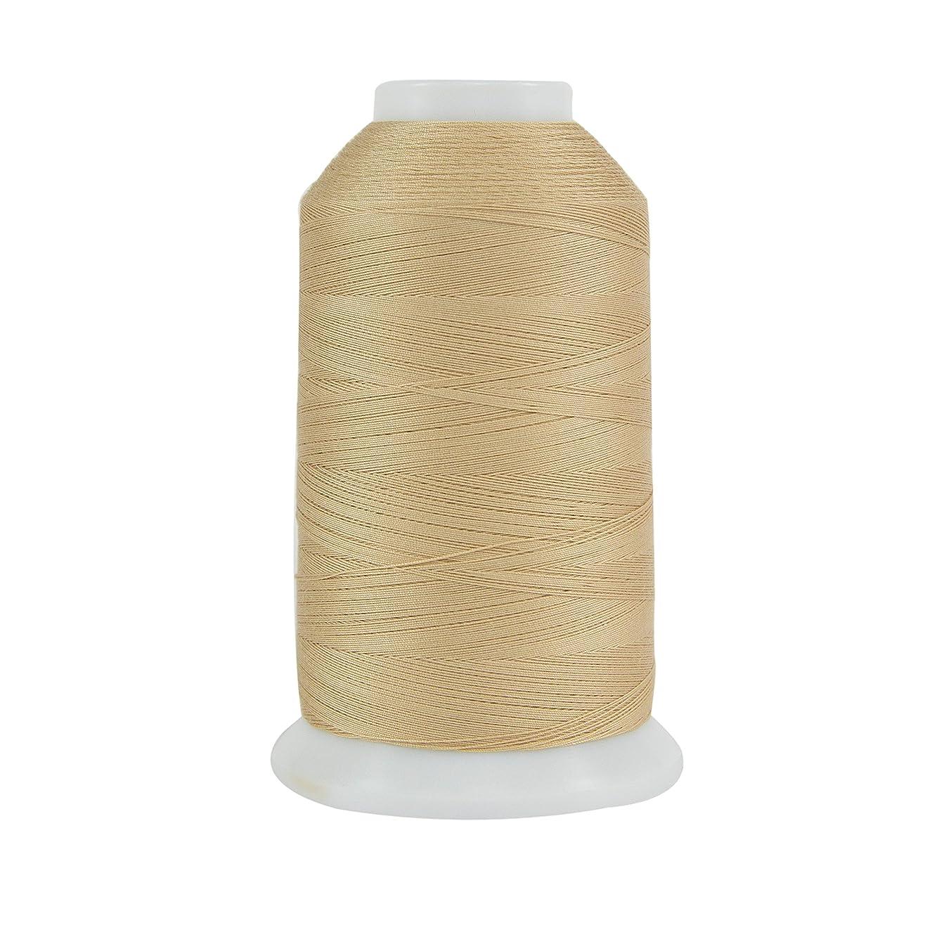 Superior Threads 121029XX973 Flax 3-Ply 40W King TUT Cotton Quilting Thread, 2000 yd