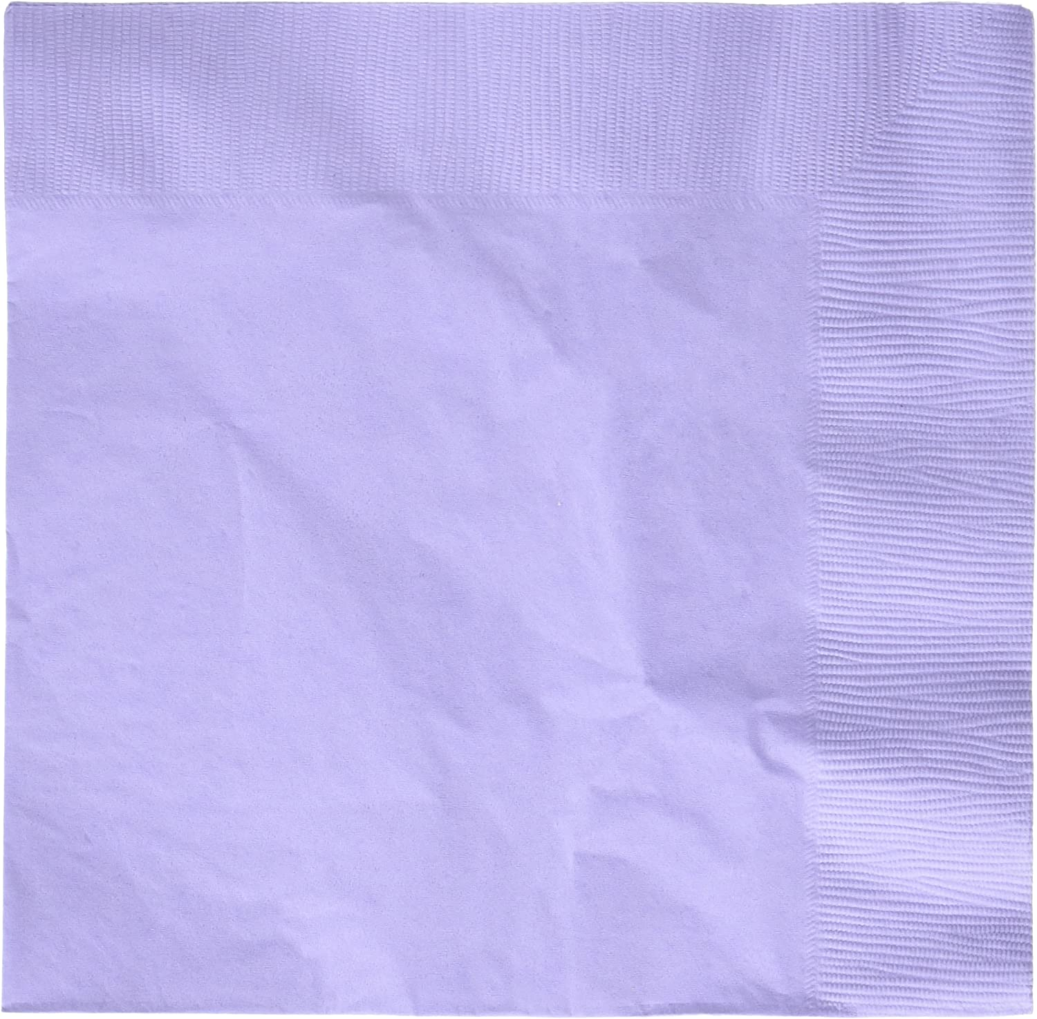 Lavender 2-Ply Dinner Napkins   Pack of 20   Party Supply