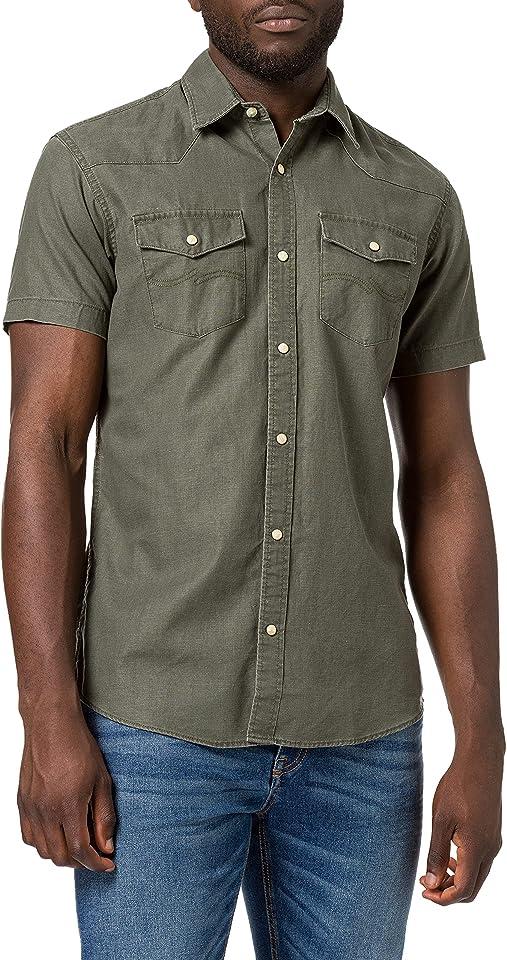 Men's Jprblusummer Coated Shirt S/S Western