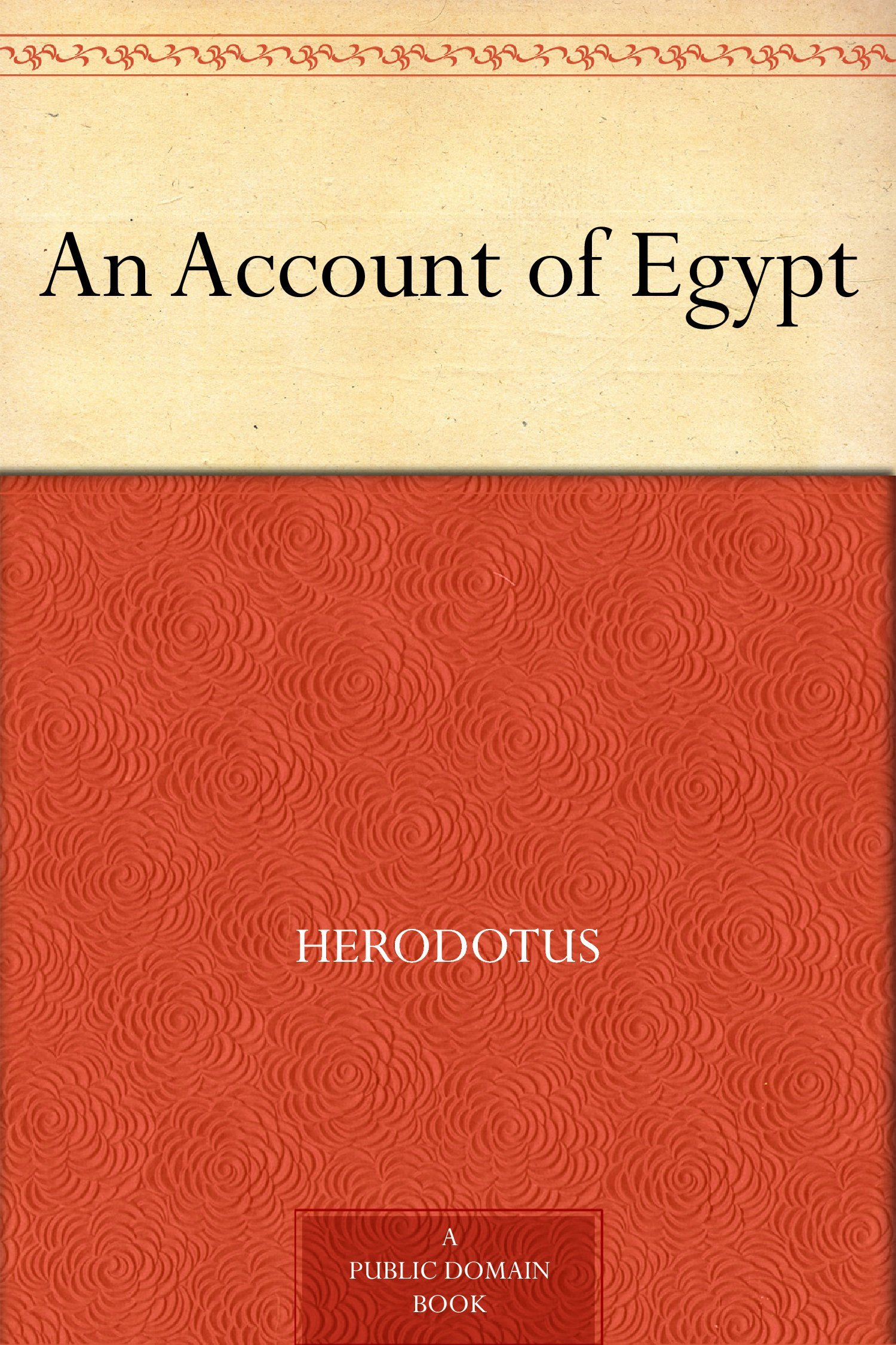 Image OfAn Account Of Egypt