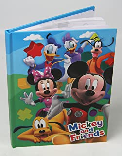 Mickey Mouse and Friends - Clubhouse Journal - 5x7 - 80 pages/40 sheets by 3Dstereo Albums