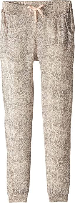 Splendid Littles - Python Print Loose Knit Joggers (Big Kids)
