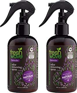 Fresh Wave Lavender Odor Eliminator Spray & Air Freshener, 8 fl. oz, Natural Ingredients (Pack of 2)